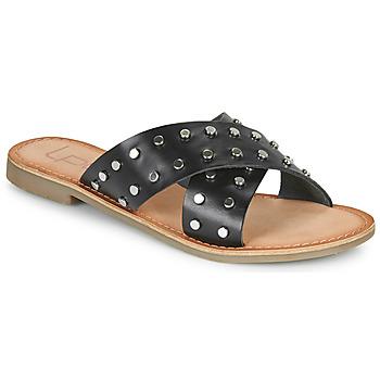 Topánky Ženy Šľapky Les Petites Bombes BELMA Čierna