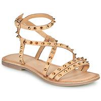 Topánky Ženy Sandále Les Petites Bombes BEATA Béžová