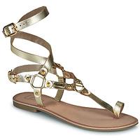 Topánky Ženy Sandále Les Petites Bombes BLEONA Zlatá