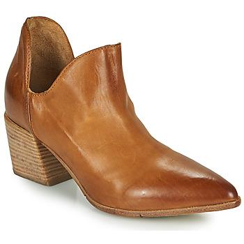 Topánky Ženy Nízke čižmy Moma OSTUMI Hnedá