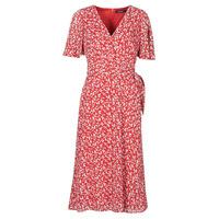 Oblečenie Ženy Dlhé šaty Lauren Ralph Lauren ABEL Červená