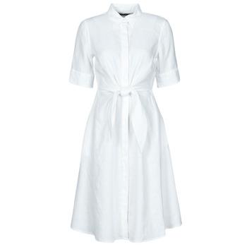 Oblečenie Ženy Krátke šaty Lauren Ralph Lauren WAKANA Biela