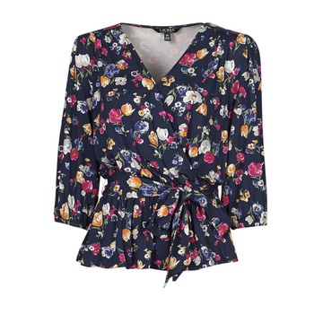 Oblečenie Ženy Tričká s krátkym rukávom Lauren Ralph Lauren SHIANETA Viacfarebná