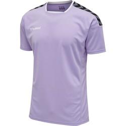 Oblečenie Tričká s krátkym rukávom Hummel Maillot  hmlAUTHENTIC Poly HML bleu lavande