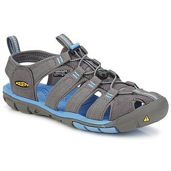 Topánky Ženy Športové sandále Keen CLEARWATER CNX W Šedá / Modrá