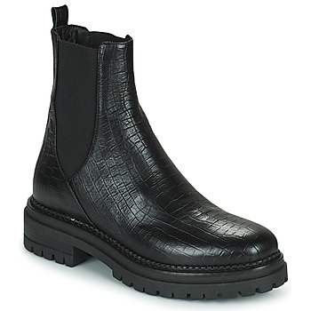 Topánky Ženy Polokozačky Minelli LAMINA Čierna