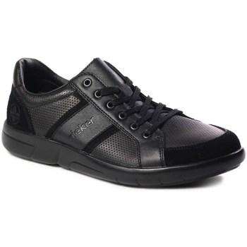 Topánky Muži Nízke tenisky Rieker B271200 Čierna