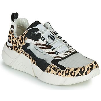 Topánky Ženy Nízke tenisky Skechers BLOCK - WEST Béžová