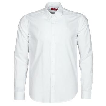 Oblečenie Muži Košele s dlhým rukávom BOTD OMAN Biela