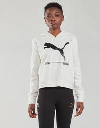 Oblečenie Ženy Mikiny Puma NUTILITY HOODY Biela