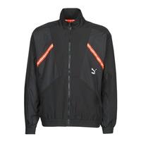 Oblečenie Muži Vrchné bundy Puma WVN JACKET Čierna / Červená