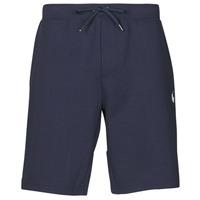 Oblečenie Muži Šortky a bermudy Polo Ralph Lauren SHORT DE JOGGING EN DOUBLE KNIT TECH LOGO PONY PLAYER Námornícka modrá