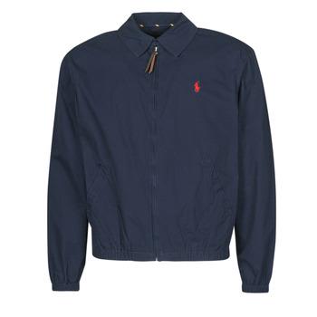 Oblečenie Muži Bundy  Polo Ralph Lauren BLOUSON BAYPORT EN COTON LEGER LOGO PONY PLAYER Modrá