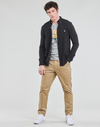 Oblečenie Muži Nohavice päťvreckové Polo Ralph Lauren PANTALON CHINO PREPSTER AJUSTABLE ELASTIQUE AVEC CORDON INTERIEU Béžová