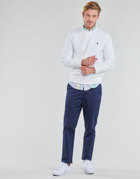 Oblečenie Muži Nohavice päťvreckové Polo Ralph Lauren PANTALON CHINO PREPSTER AJUSTABLE ELASTIQUE AVEC CORDON INTERIEU Námornícka modrá