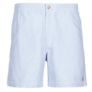 Oblečenie Muži Šortky a bermudy Polo Ralph Lauren SHORT PREPSTER AJUSTABLE ELASTIQUE AVEC CORDON INTERIEUR LOGO PO Modrá