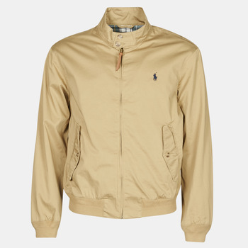 Oblečenie Muži Bundy  Polo Ralph Lauren BLOUSON BARACUDA COTON DOUBLE LOGO PONY PLAYER Béžová