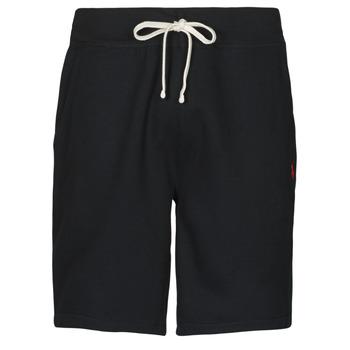 Oblečenie Muži Šortky a bermudy Polo Ralph Lauren SHORT MOLTONE EN COTON LOGO PONY PLAYER Čierna