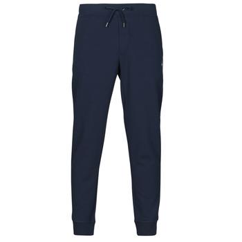 Oblečenie Muži Tepláky a vrchné oblečenie Polo Ralph Lauren PANTALON DE JOGGING EN DOUBLE KNIT TECH LOGO PONY PLAYER Námornícka modrá