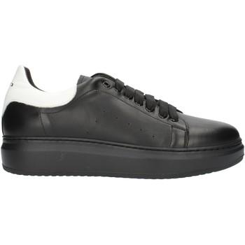 Topánky Muži Nízke tenisky Exton 955PE2020 Black