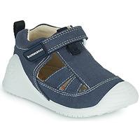 Topánky Chlapci Sandále Biomecanics 202211 Modrá