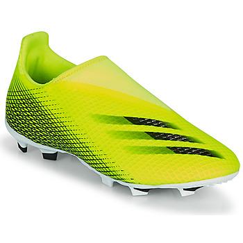 Topánky Deti Futbalové kopačky adidas Performance X GHOSTED.3 LL FG J Žltá / Čierna