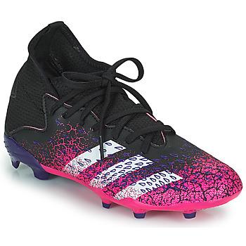Topánky Deti Futbalové kopačky adidas Performance PREDATOR FREAK .3 F Čierna / Ružová