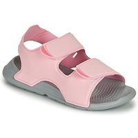 Topánky Dievčatá Sandále adidas Performance SWIM SANDAL C Ružová