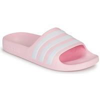 Topánky Dievčatá Sandále adidas Performance ADILETTE AQUA K Ružová