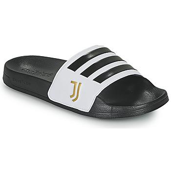 Topánky športové šľapky adidas Performance ADILETTE SHOWER Biela / Čierna