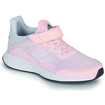 Topánky Dievčatá Nízke tenisky adidas Performance DURAMO SL C Ružová