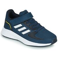 Topánky Deti Nízke tenisky adidas Performance RUNFALCON 2.0 C Námornícka modrá / Biela