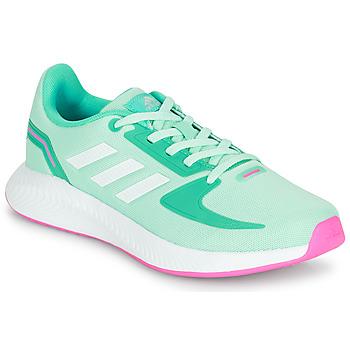 Topánky Dievčatá Nízke tenisky adidas Performance RUNFALCON 2.0 K Tyrkysová / Ružová