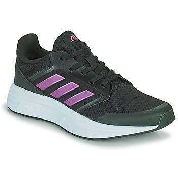 Topánky Ženy Bežecká a trailová obuv adidas Performance GALAXY 5 Čierna / Ružová