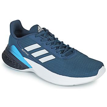 Topánky Muži Bežecká a trailová obuv adidas Performance RESPONSE SR Modrá