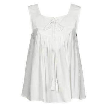 Oblečenie Ženy Tielka a tričká bez rukávov See U Soon 21111205B Biela