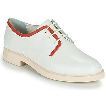 Topánky Ženy Derbie Camper TWINS Biela