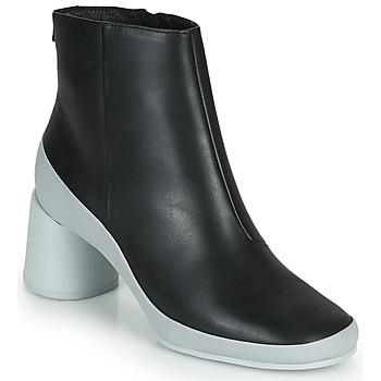 Topánky Ženy Čižmičky Camper UPRIGHT Čierna / Biela