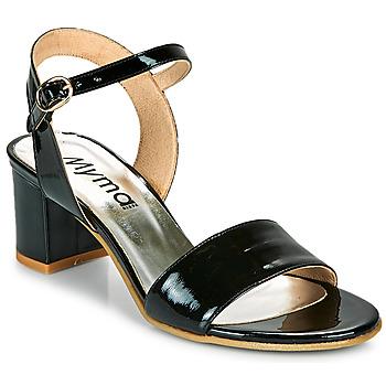 Topánky Ženy Sandále Myma POLIDAME Čierna