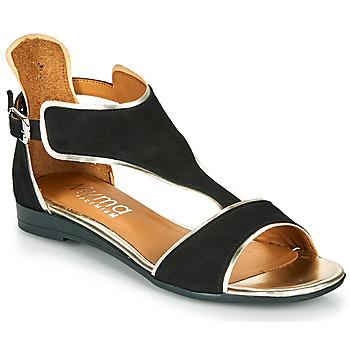Topánky Ženy Sandále Myma POLIBO Čierna