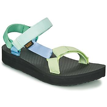 Topánky Ženy Sandále Teva MIDFORM UNIVERSAL Zelená