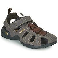 Topánky Muži Športové sandále Teva FOREBAY Hnedá