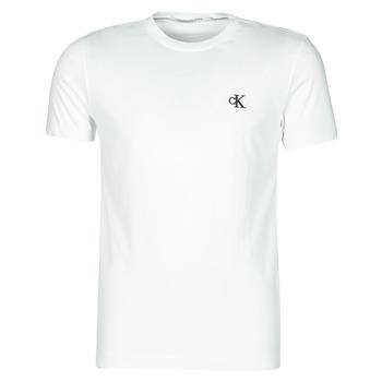 Oblečenie Muži Tričká s krátkym rukávom Calvin Klein Jeans YAF Biela