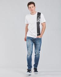 Oblečenie Muži Rovné Rifle  Calvin Klein Jeans SLIM TAPER Modrá / Medium