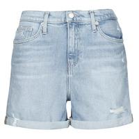 Oblečenie Ženy Šortky a bermudy Calvin Klein Jeans MOM SHORT Modrá