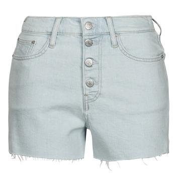 Oblečenie Ženy Šortky a bermudy Calvin Klein Jeans HIGH RISE SHORT Modrá