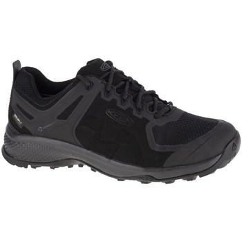 Topánky Muži Bežecká a trailová obuv Keen Explore WP Čierna