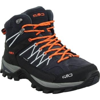 Topánky Muži Turistická obuv Cmp Rigel Mid Čierna
