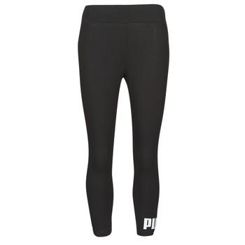 Oblečenie Ženy Legíny Puma ESS 3/4 LOGO LEGGING Čierna