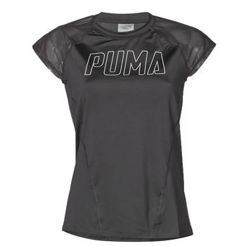 Oblečenie Ženy Tričká s krátkym rukávom Puma WMN TRAINING TEE F Čierna